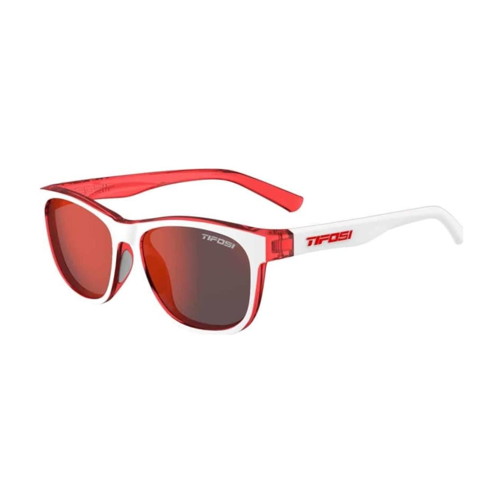 Tifosi Optics Swank, Icicle Red Single Lens Sunglasses