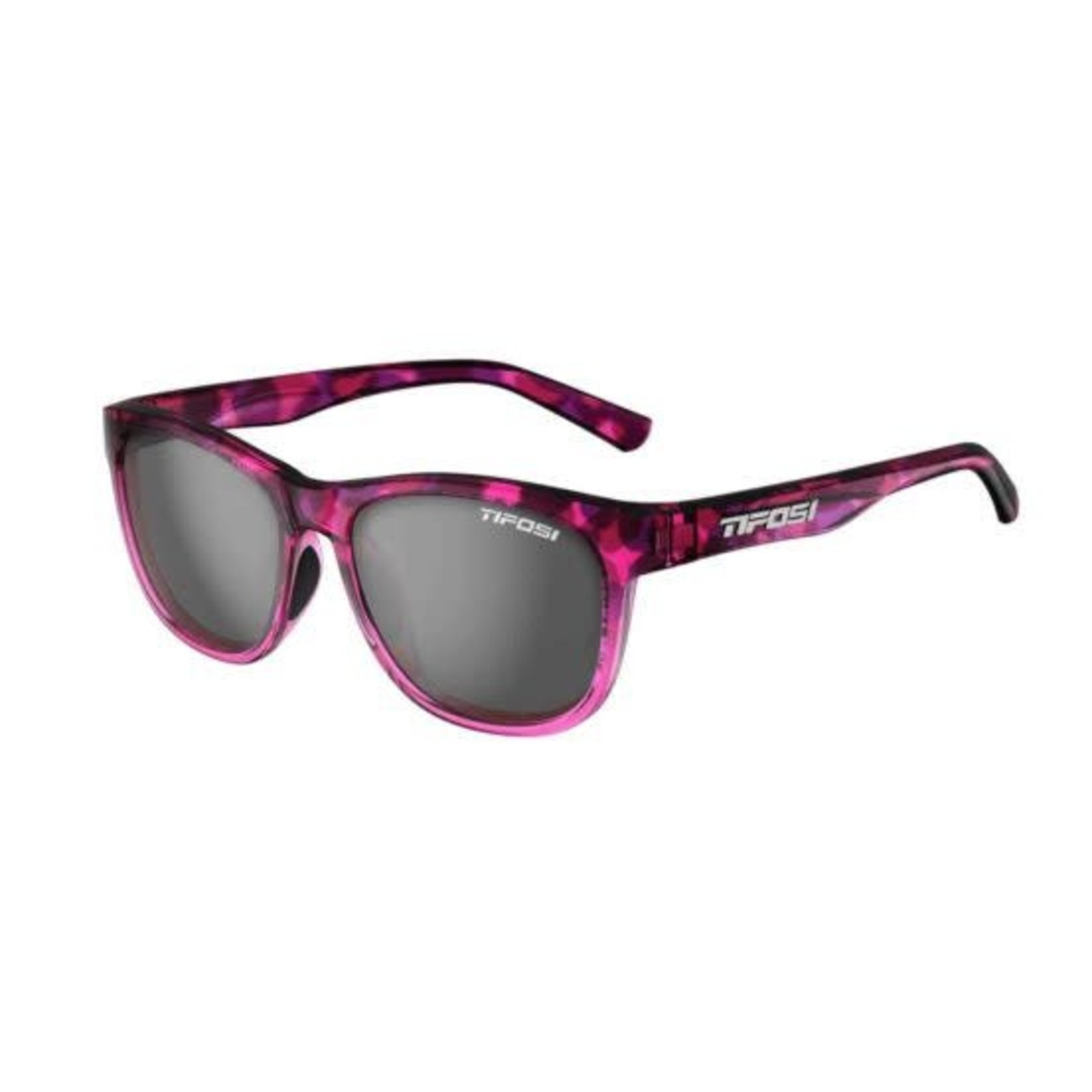 Tifosi Optics Swank, Pink Confetti Single Lens Sunglasses