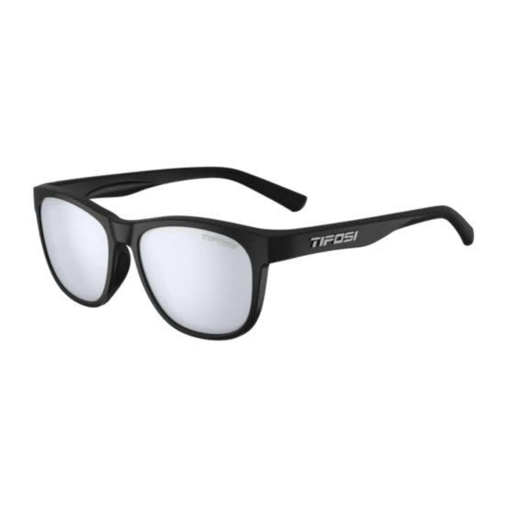 Tifosi Optics Swank, Satin Black Single Lens Sunglasses