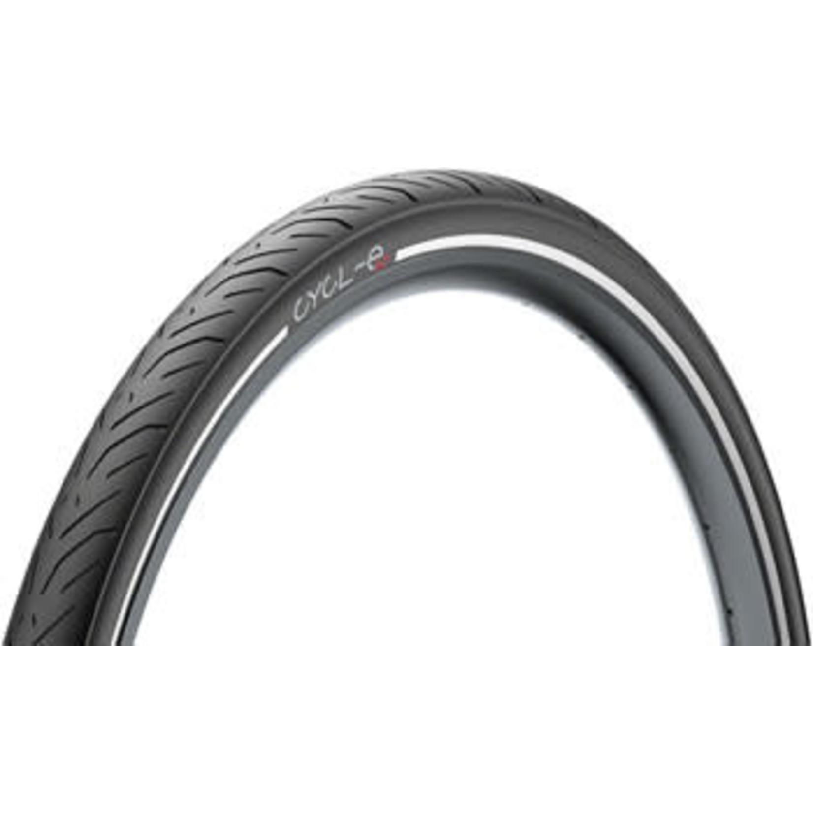 Pirelli Pirelli Cycl-e GT Tire - 650 x 57, Clincher, Wire, Black, Reflective