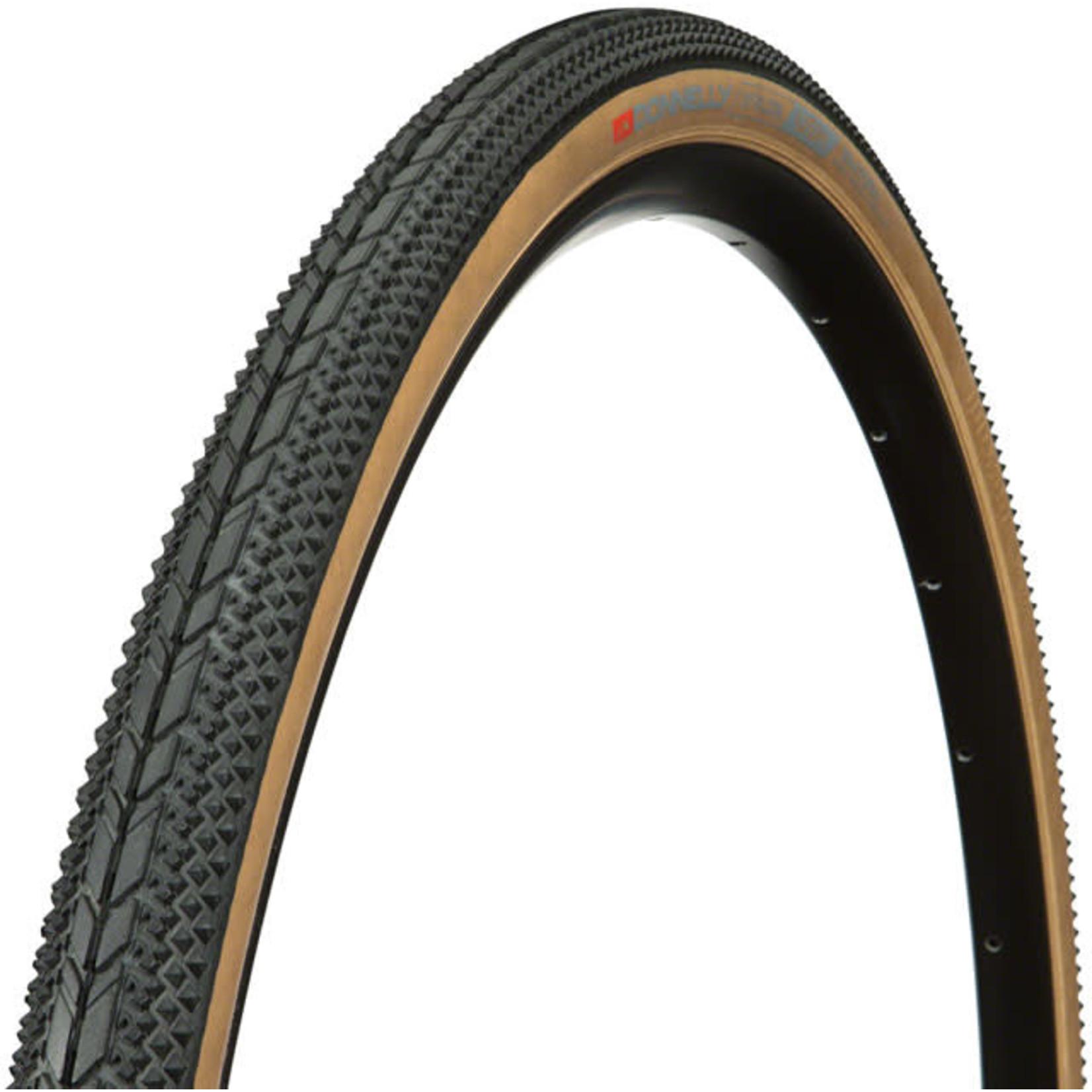 Donnelly Sports Donnelly Sports X'Plor USH Tire - 700 x 35, Clincher, Folding, Black/Tan, 60tpi