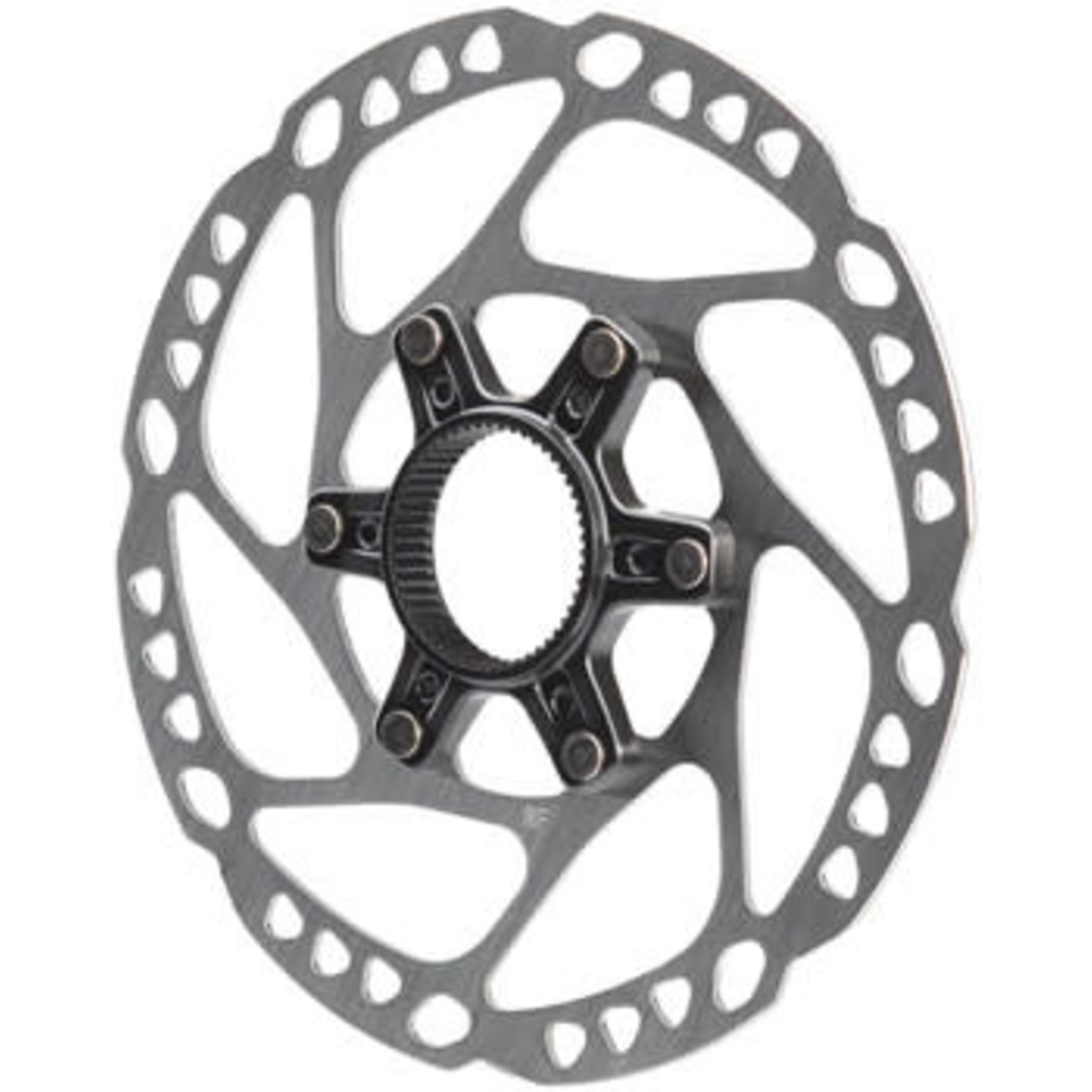 Shimano GRX SM-RT64-S Disc Brake Rotor with External Lockring - 160mm, Center Lock, Silver