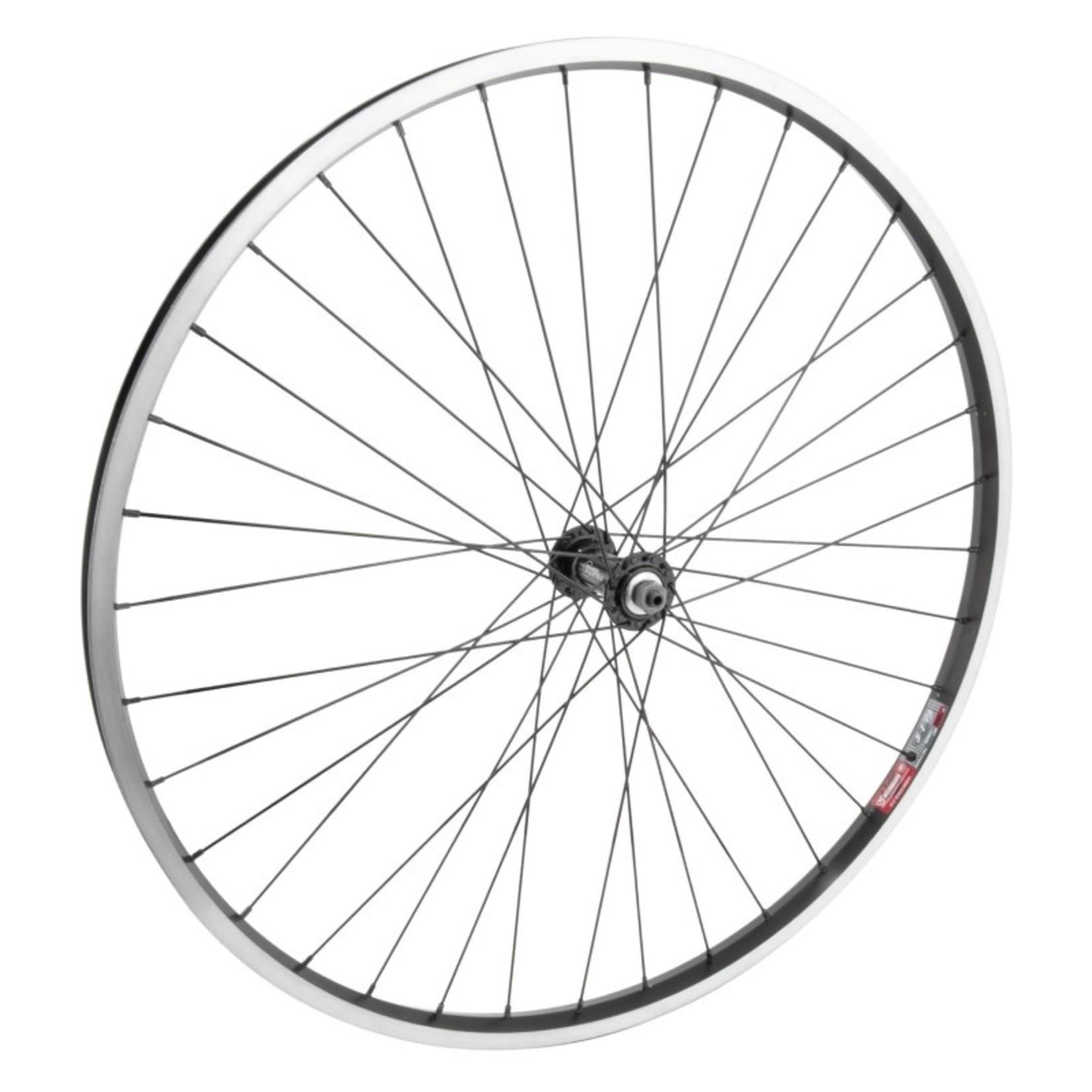 """27.5"""" Front Wheel Alloy Mountain Single Wall QR Single Wall Black w/ MSW"""