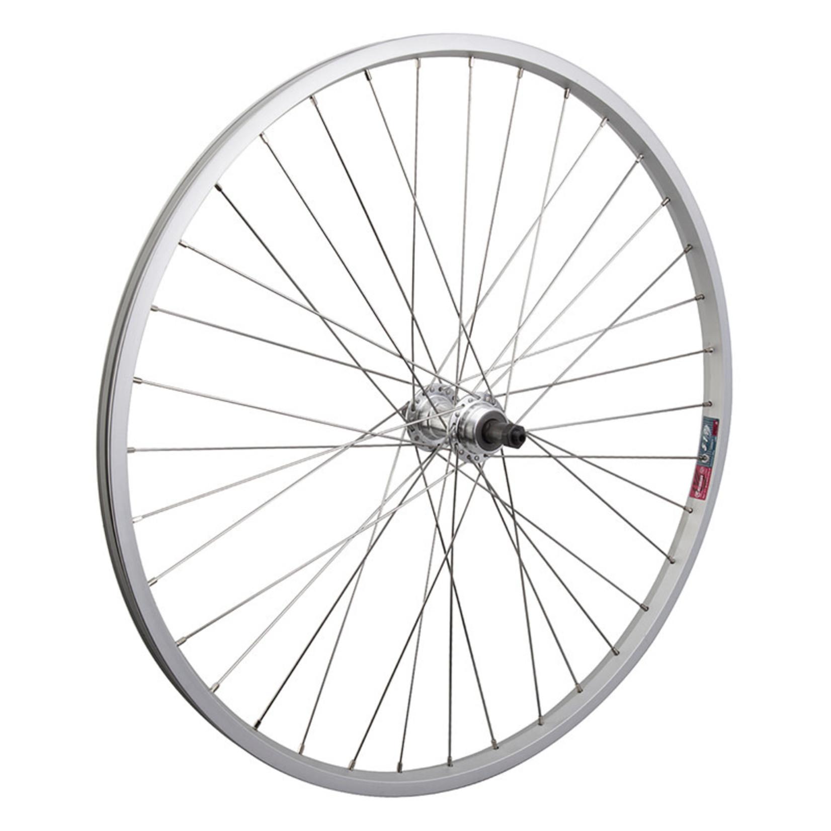 """26"""" Rear Wheel Alloy Mountain Single Wall FW QR"""
