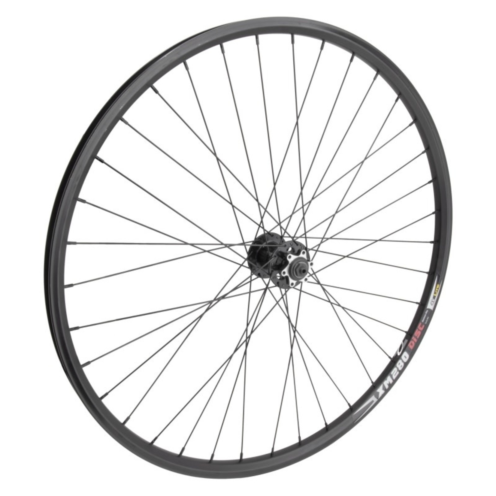 "29"" Front Wheel Alloy Mountain Disc Double Wall Disc Brake QR Black"