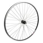 700C Rear Wheel Alloy Road Double Wall FW QR Black w/MSW 126mm