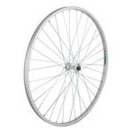 "27"" Front Wheel Alloy Road Single Wall QR 14g Silver"
