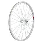"24"" Front Wheel Alloy Mountain Single Wall BO 3/8 14g Silver"