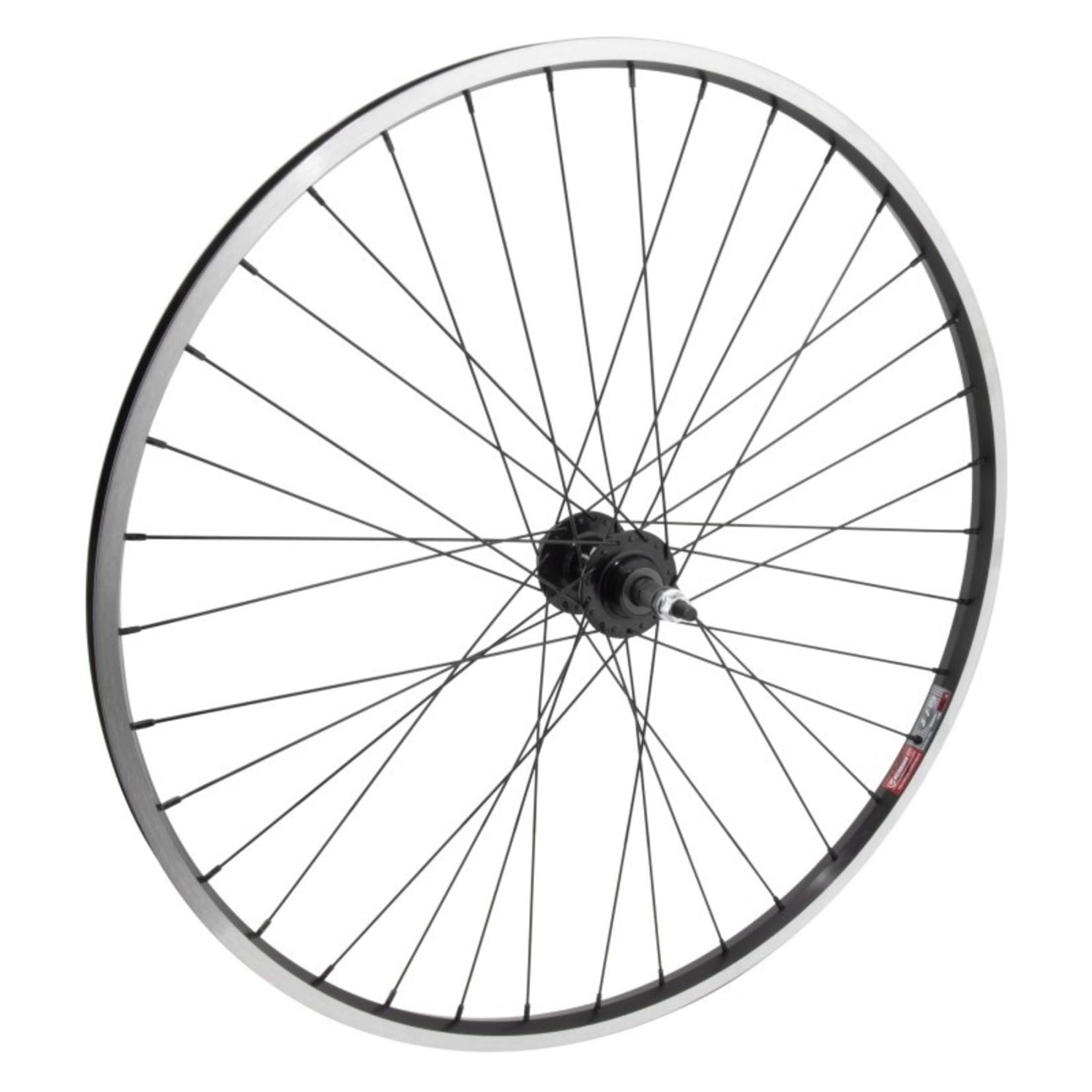 """29"""" Rear Wheel Alloy Mountain Disc Single Wall BO FW 135mm 14g Black w/MSW"""
