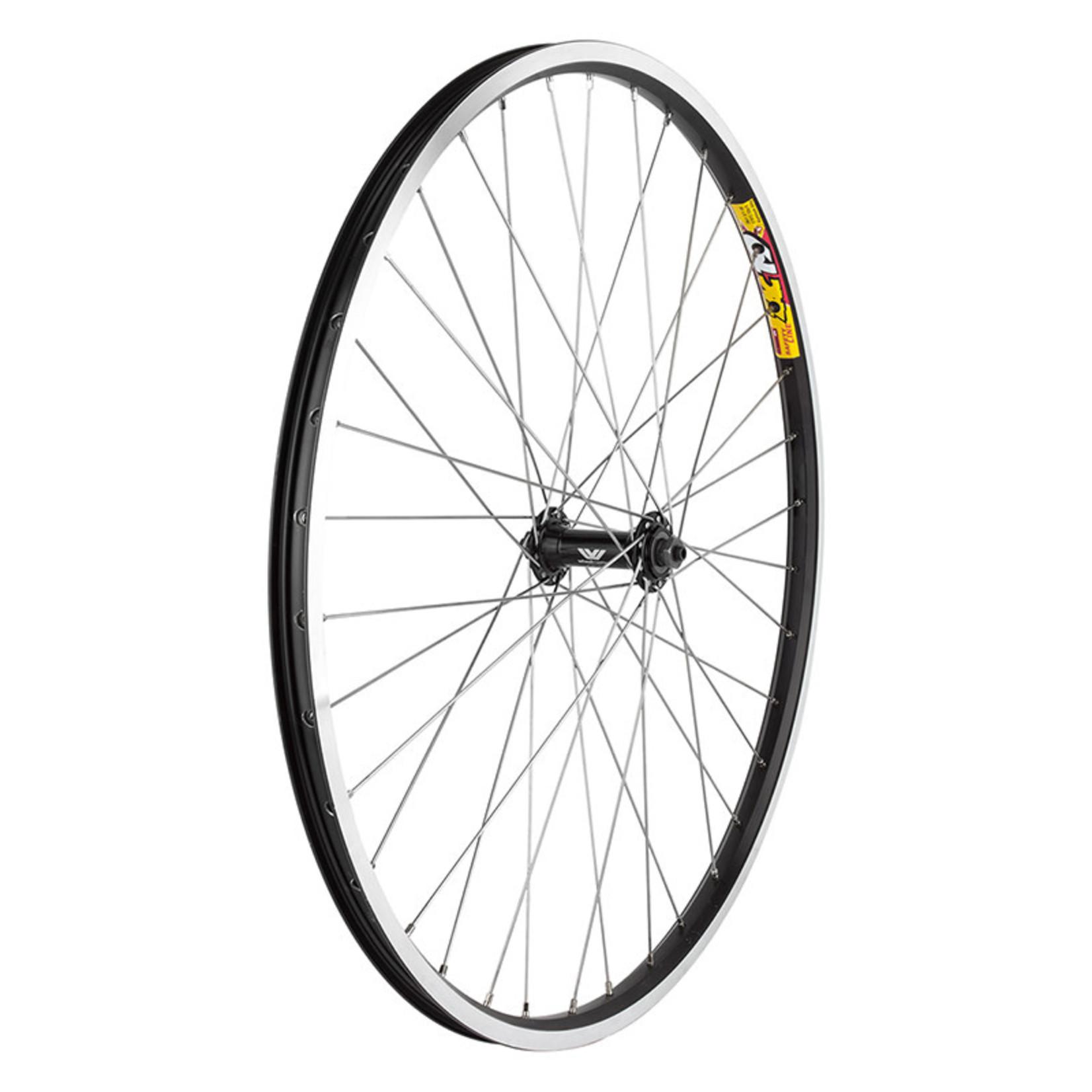 "26"" Front Wheel Alloy Mountain Double Wall QR Black w/MSW"