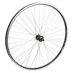 """700C/29"""" Rear Wheel Alloy Double Wall FW QR 135mm 14g SS Black w/MSW"""