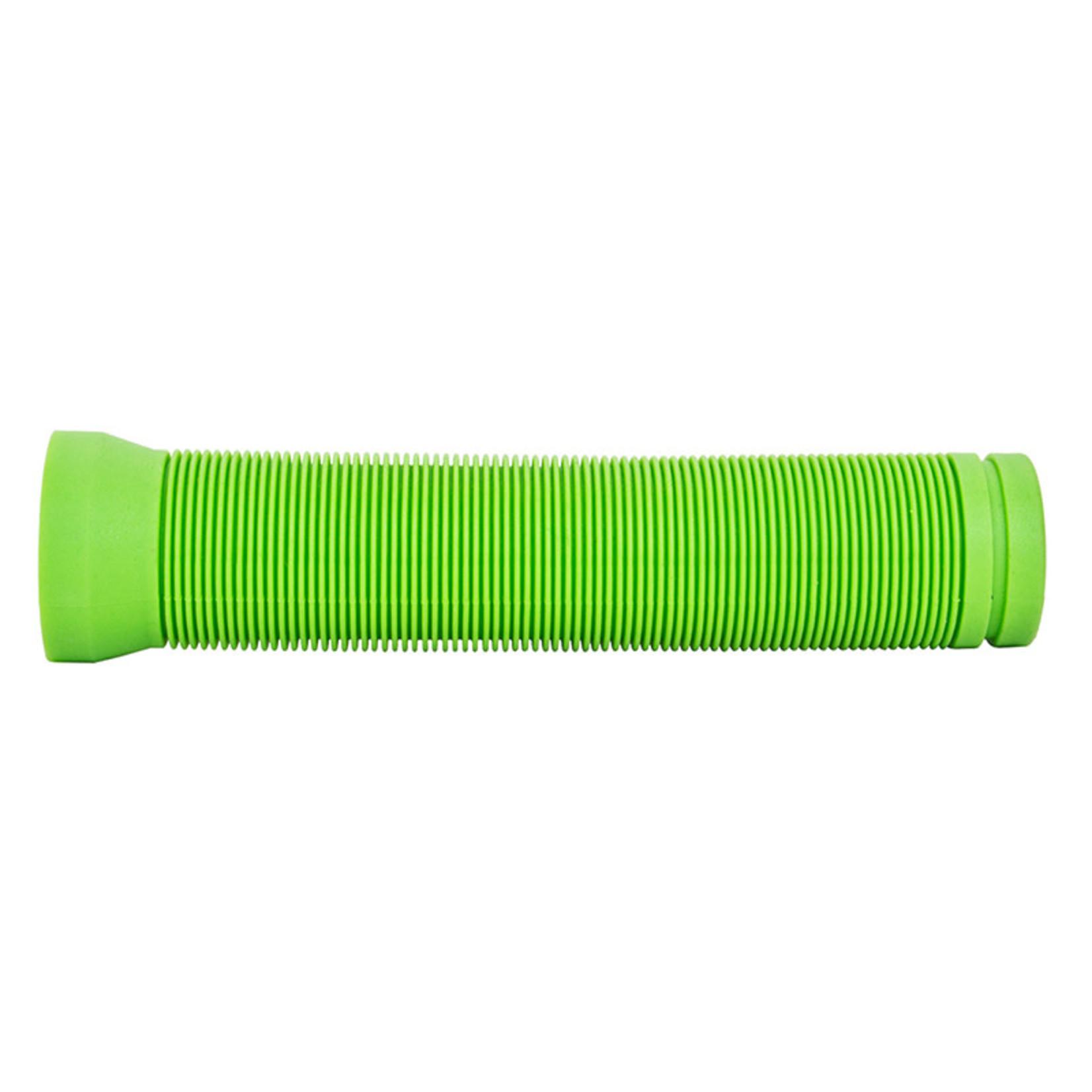 Flangeless Circle Bar Grips Green 145mm