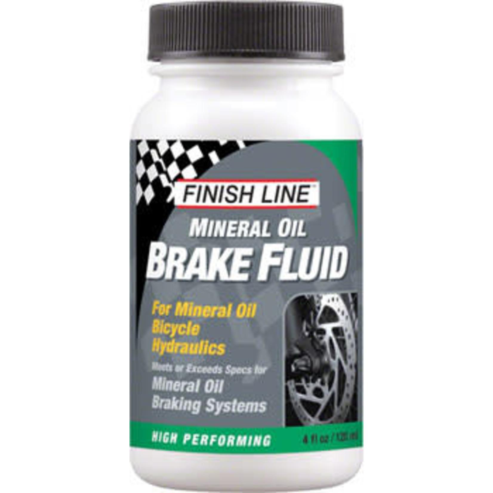 Finish Line Mineral Oil Brake Fluid, 4oz