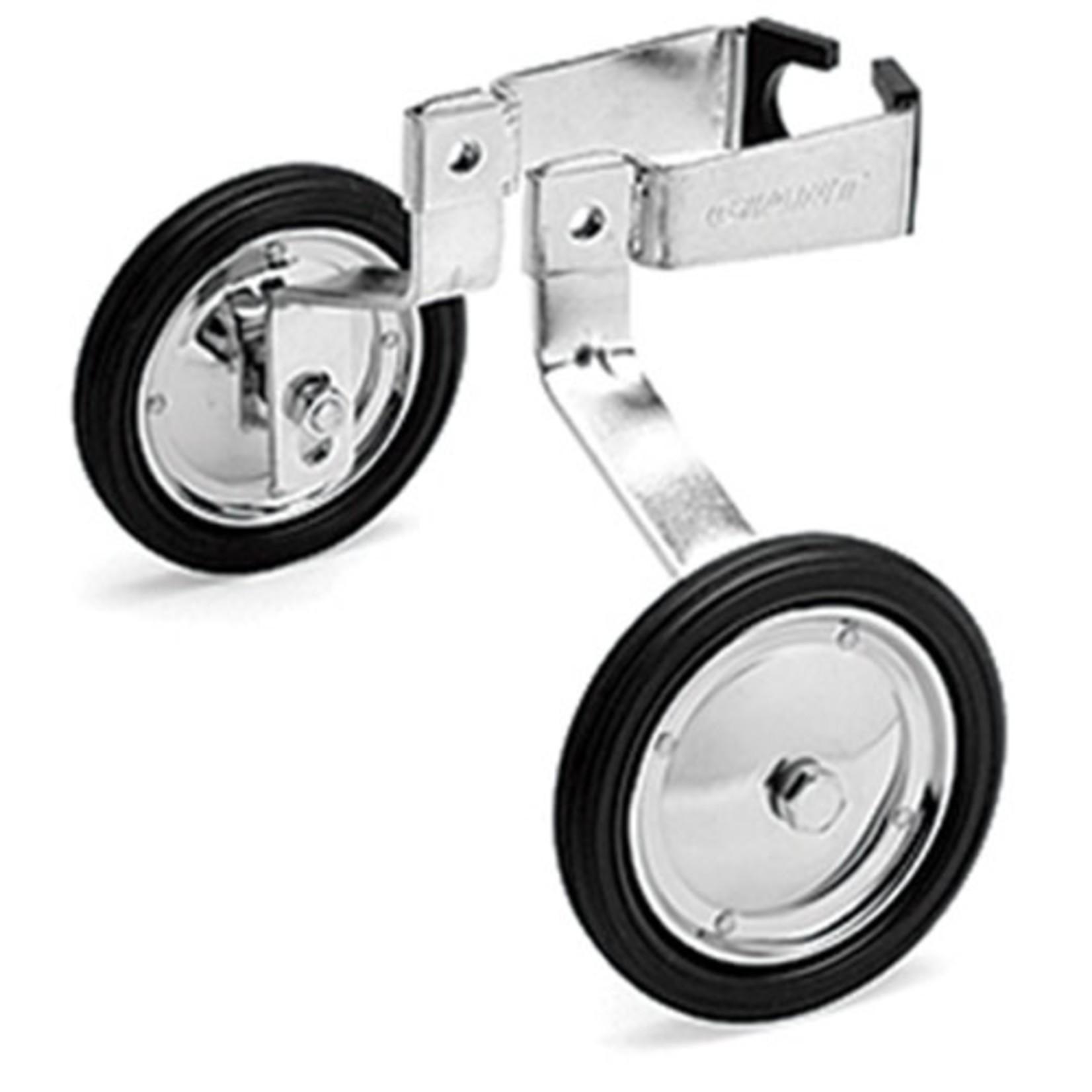 "Giant Training Wheels 16""-20"" 100lbs Max Silver"