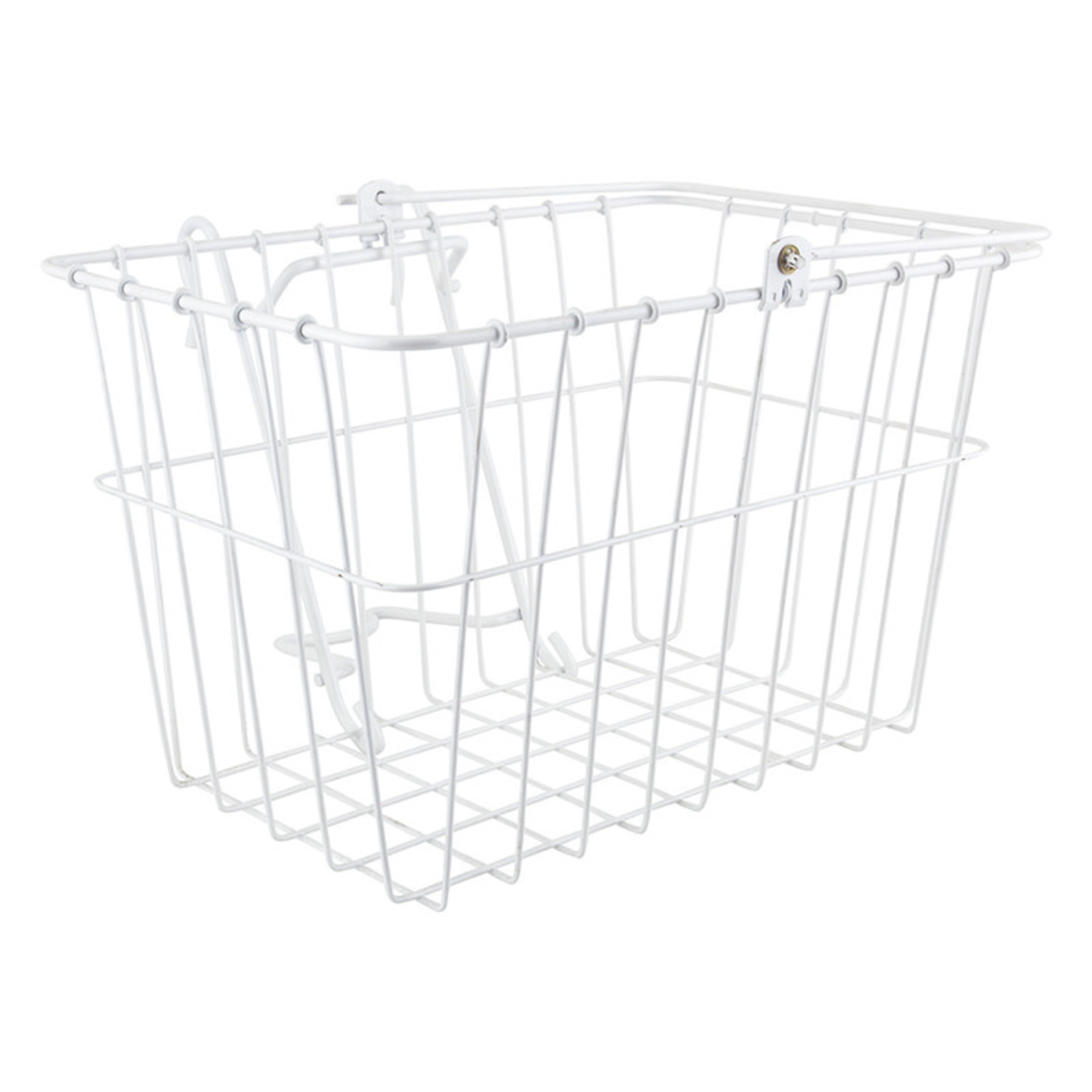 """Lift-Off Front Basket 14.5x9.5x9"""" Steel White"""