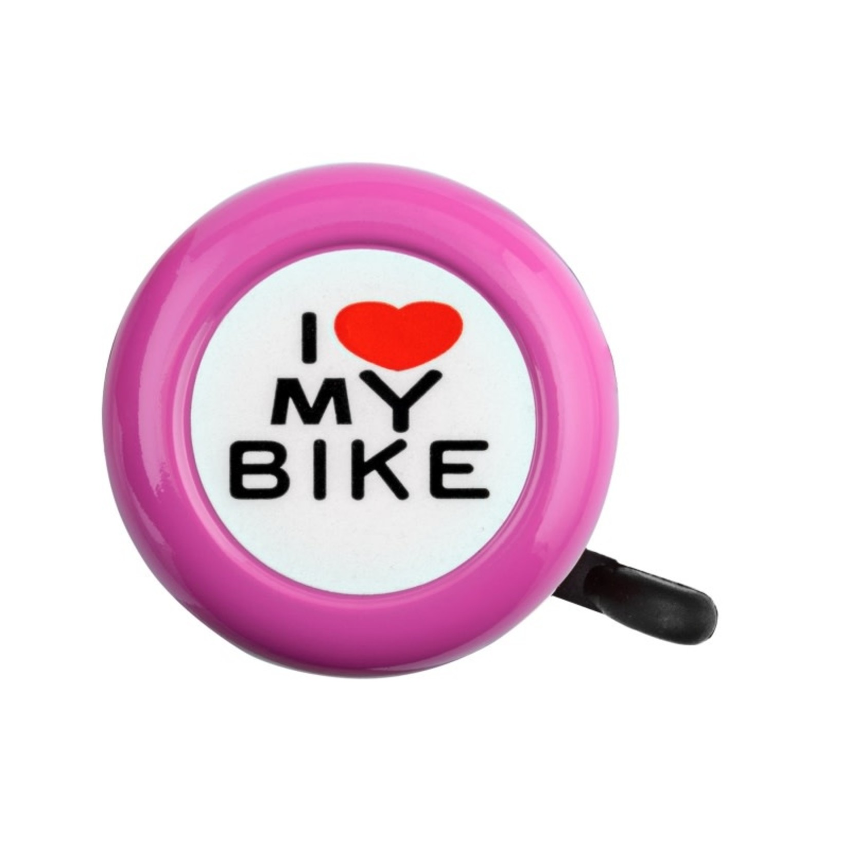 I Love My Bike Bell Pink