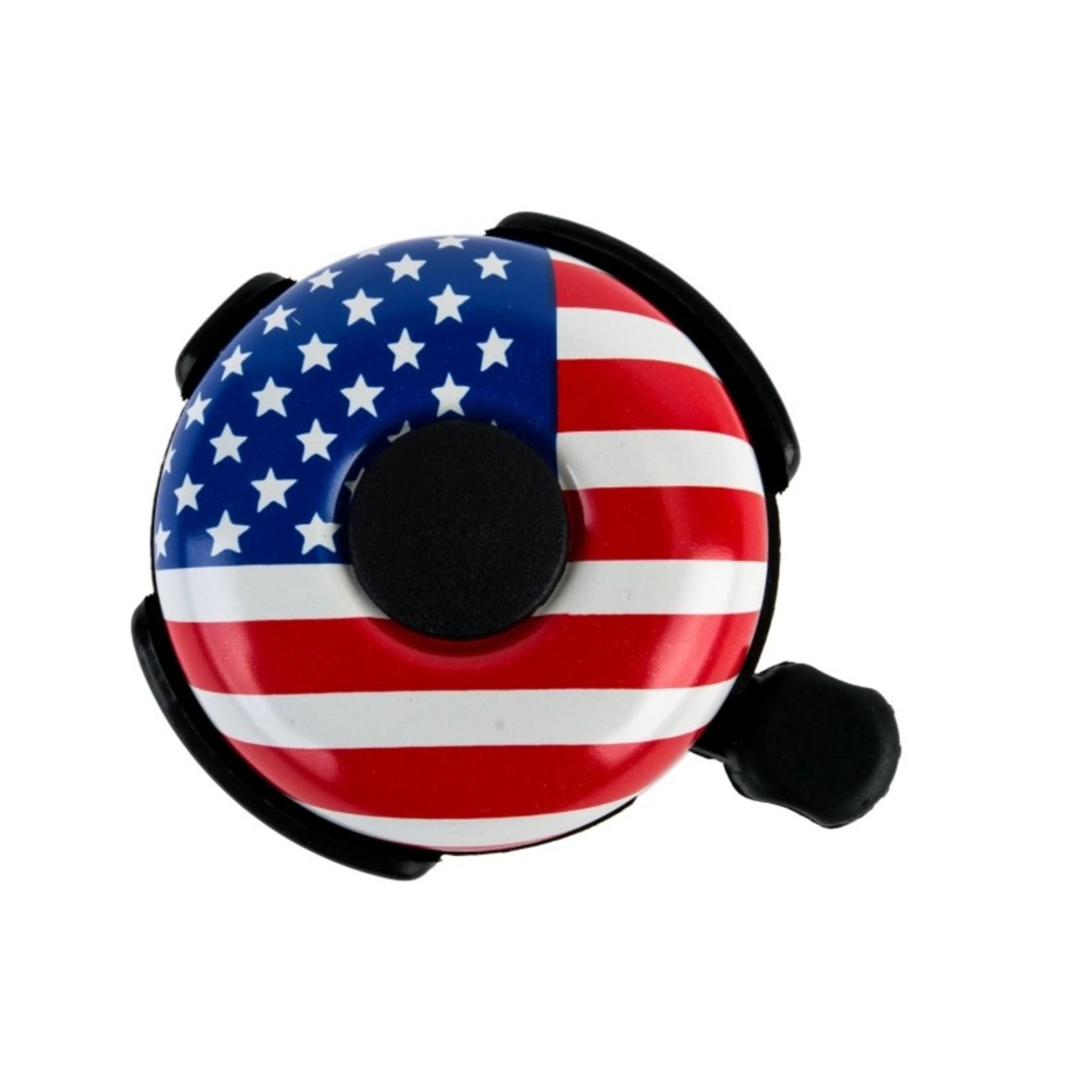 53mm Alloy Ringer Bell USA Flag