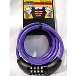 Cable Combo Lock 6'5 Matte Purple