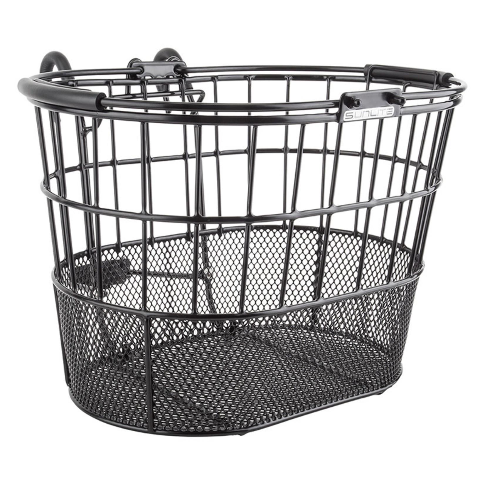 Standard Oval Mesh Bottom Lift-Off Black