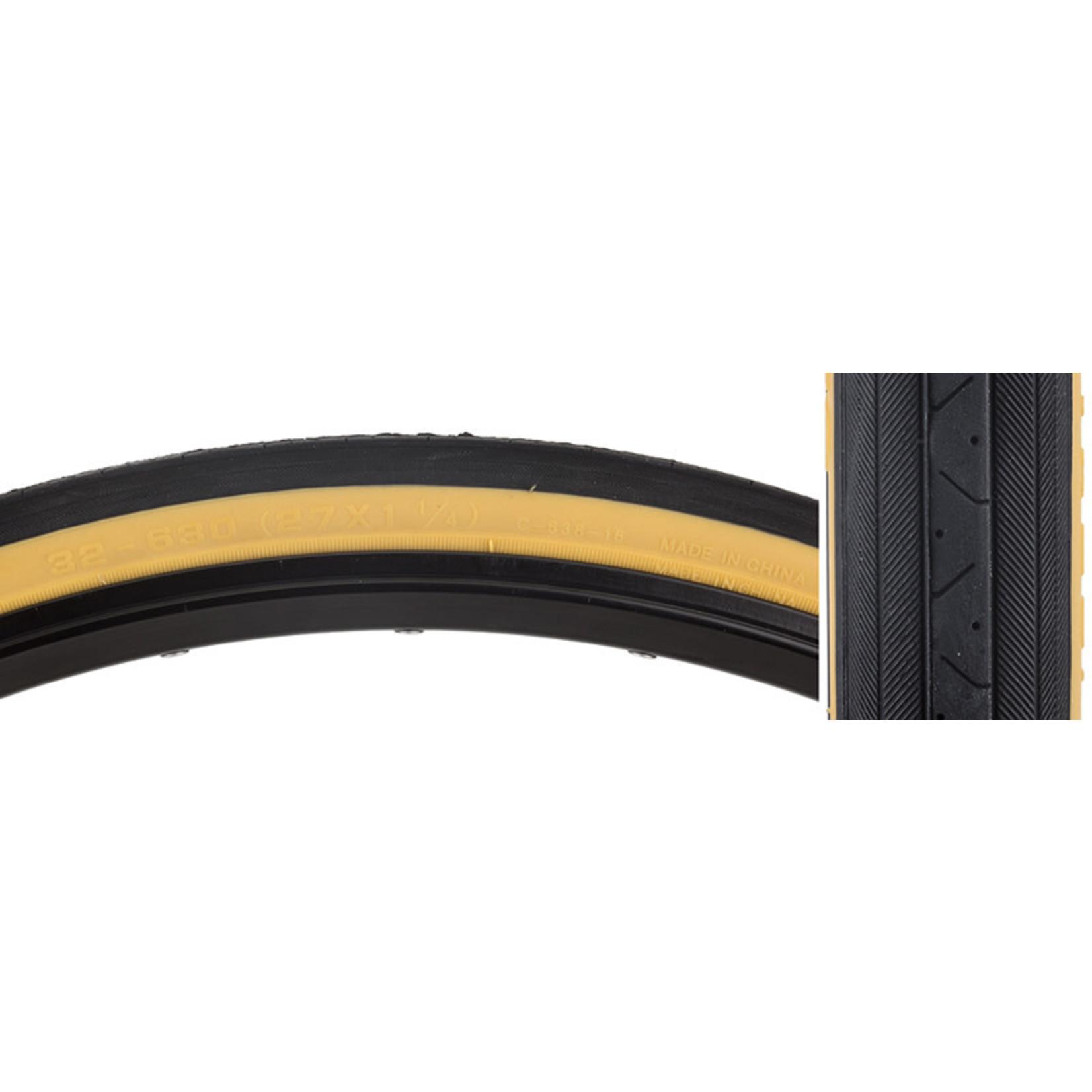 27x1-1/4 Gum Wall Tire