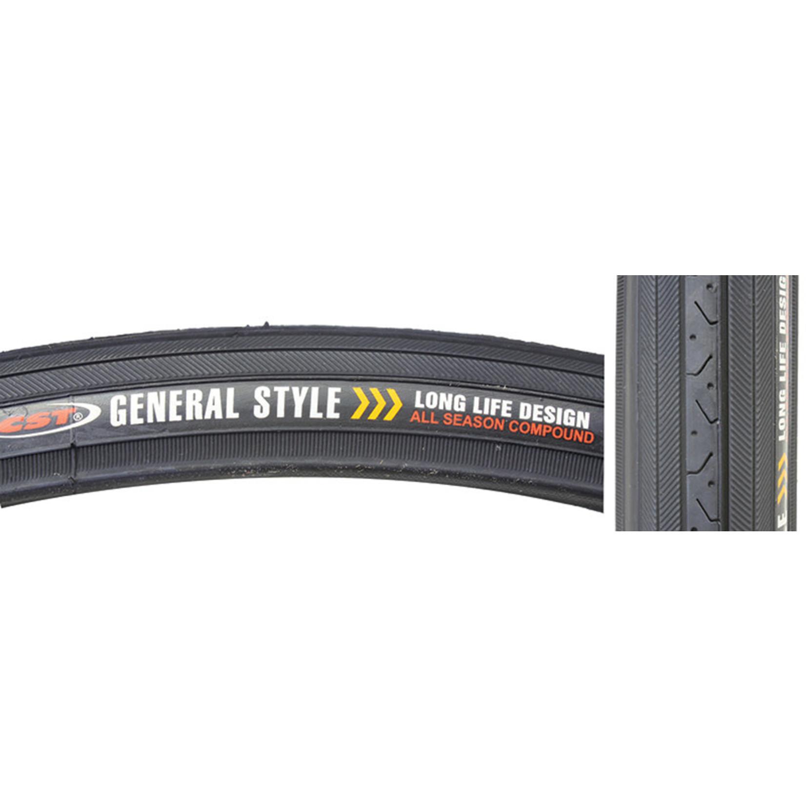 27x1-1/4 Black Wall Tire