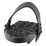 Flat Form I Exerciser Pedals 1/2 Black