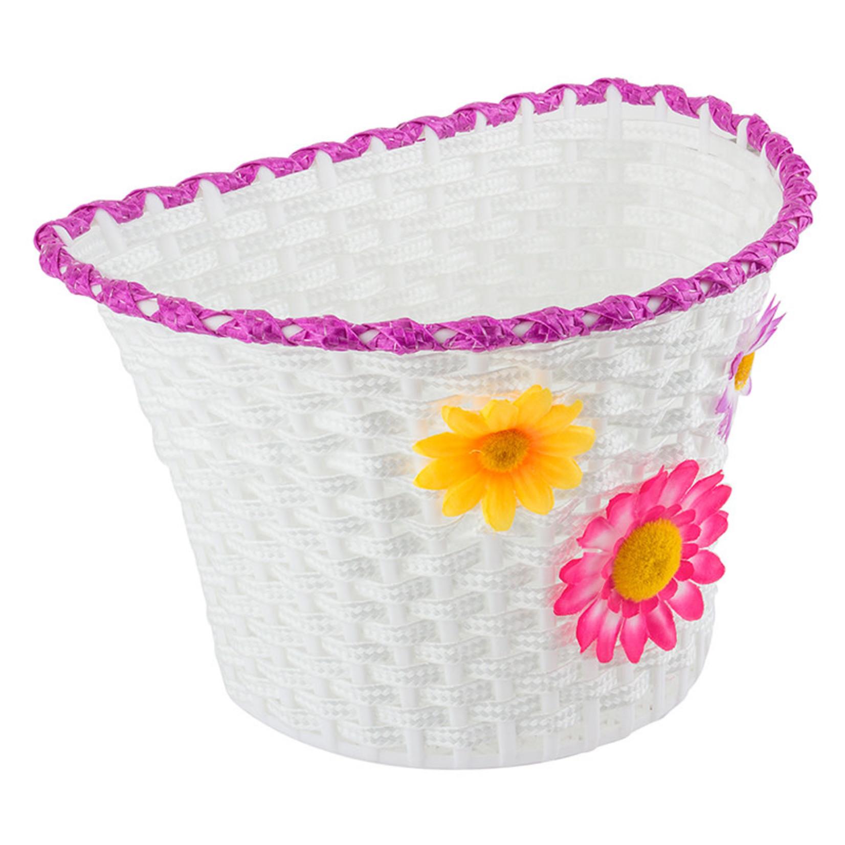 """Classic Flower Basket 10x6.5x6.25"""""""