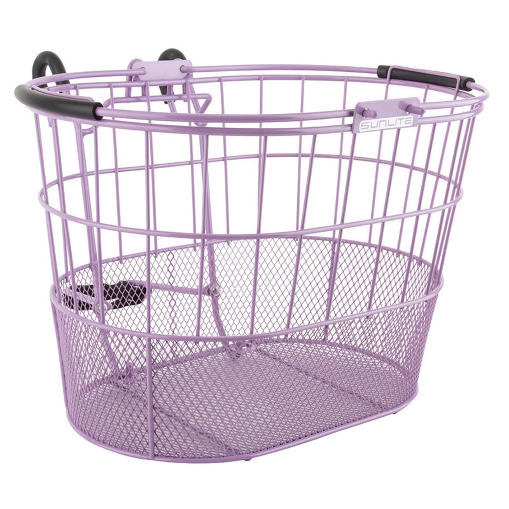 Standard Oval Mesh Bottom Lift-Off Purple