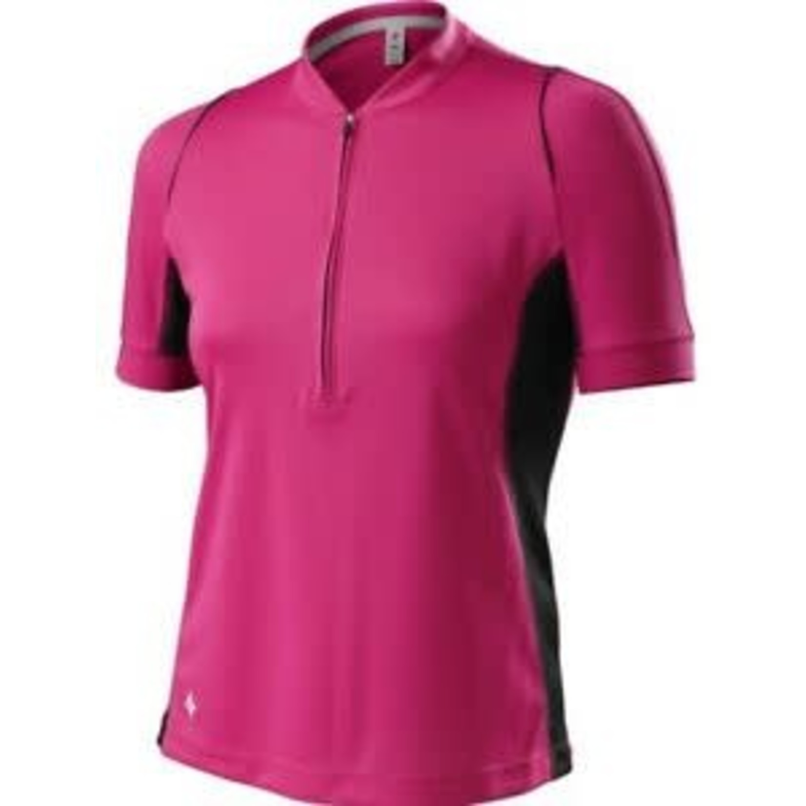 Specialized Shasta Jersey SS WMN Pink / Black Relaxed Fit X-Small