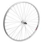 """27.5"""" Alloy Mountain Single Wall Rear Wheel FW QR 135mm 14g Silver"""