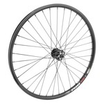 "27.5"" Alloy Mountain Disc Double Wall Front Wheel 6B 14g Black"