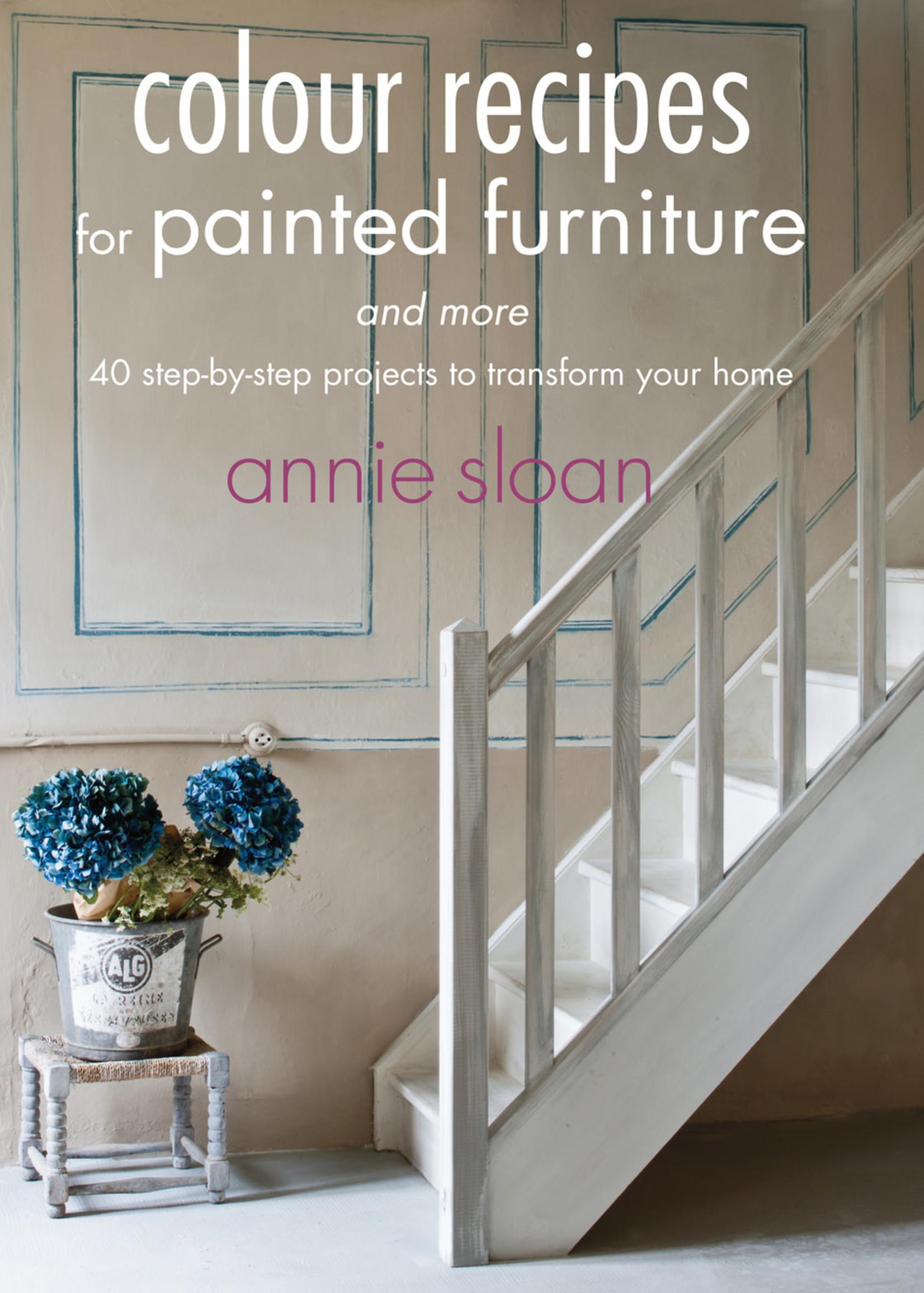Annie Sloan US Inc Annie Sloan Book Colour Recipes - English