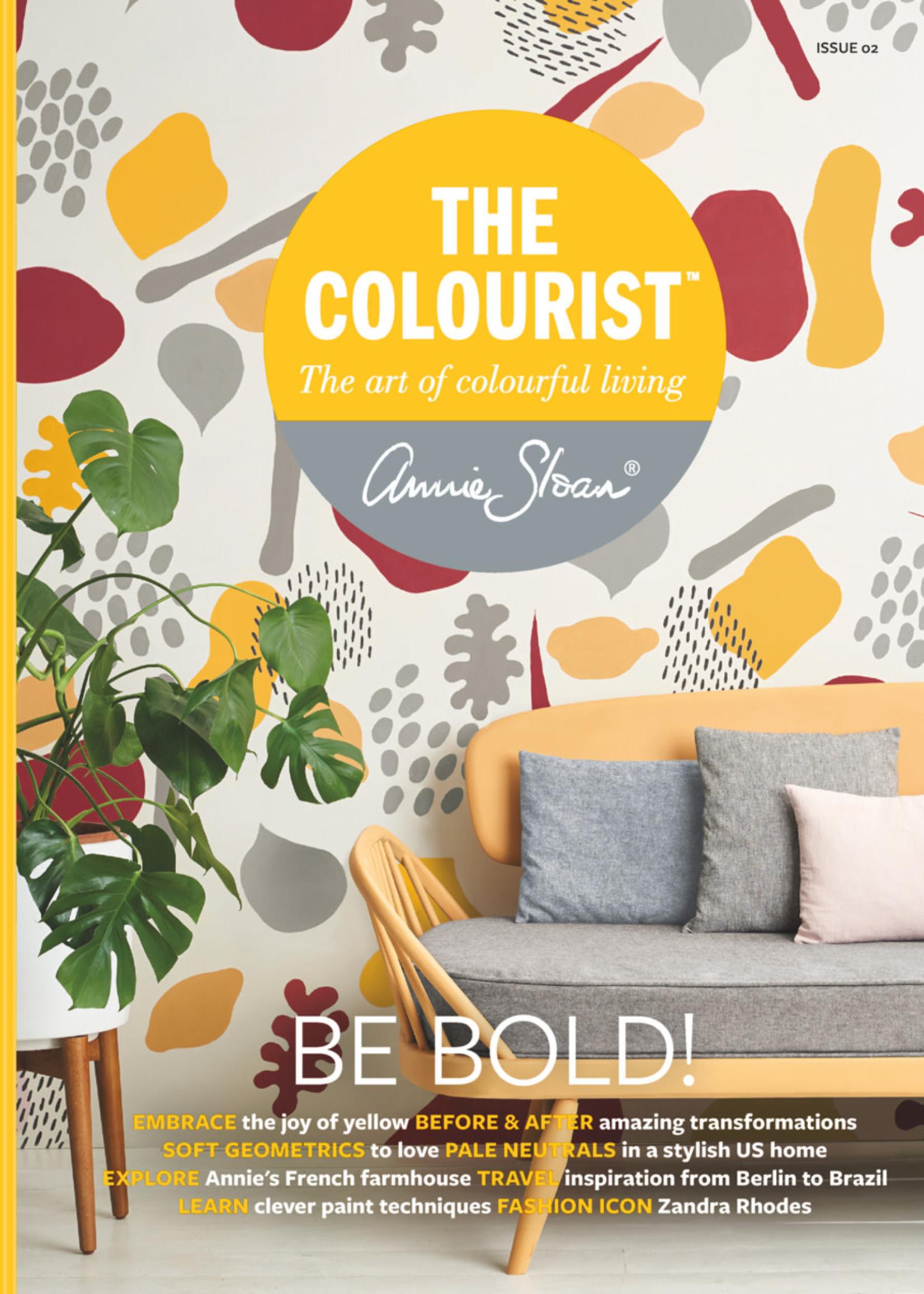 Annie Sloan US Inc Annie Sloan Book The Colourist: Be Bold