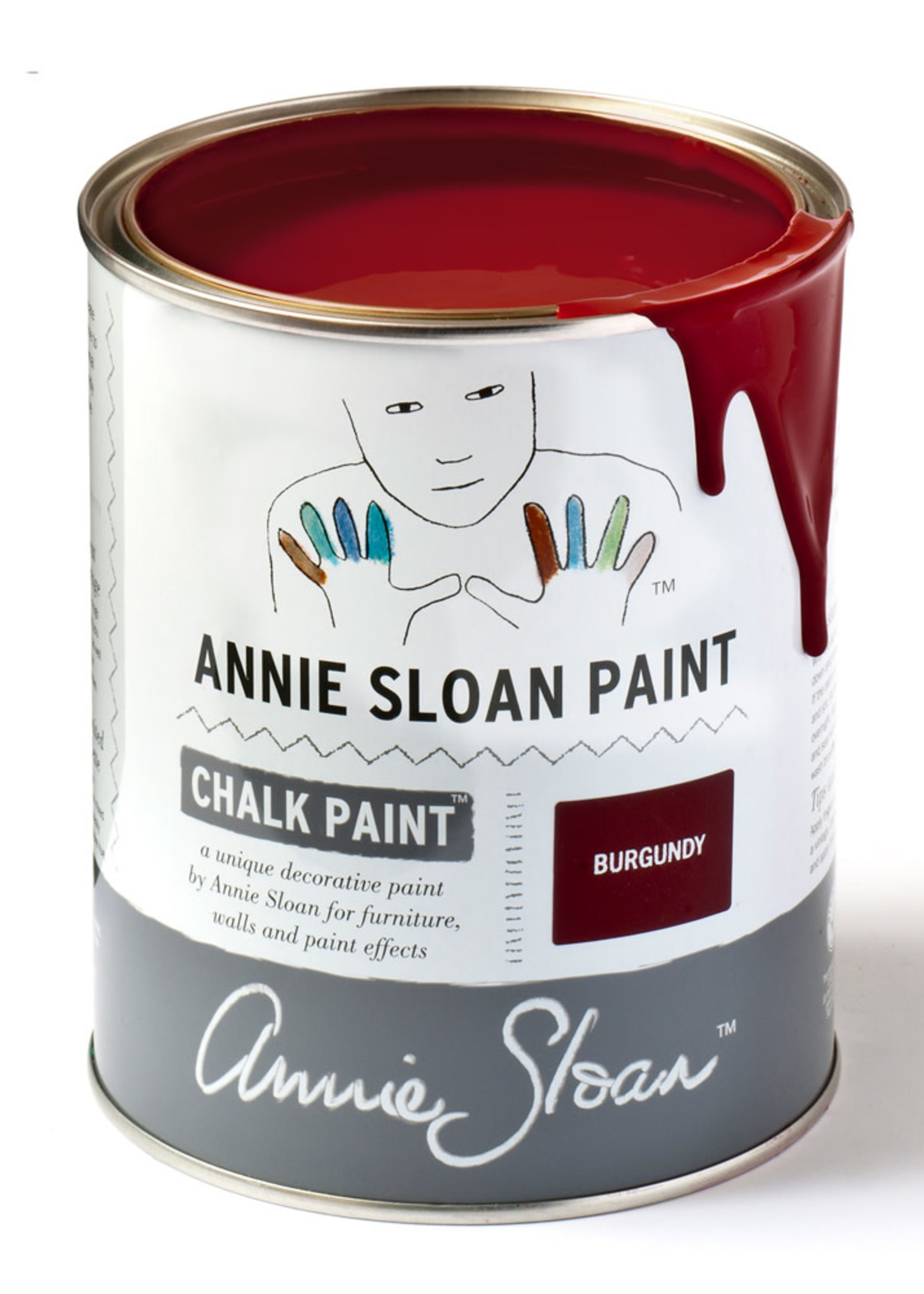 Annie Sloan US Inc Burgundy