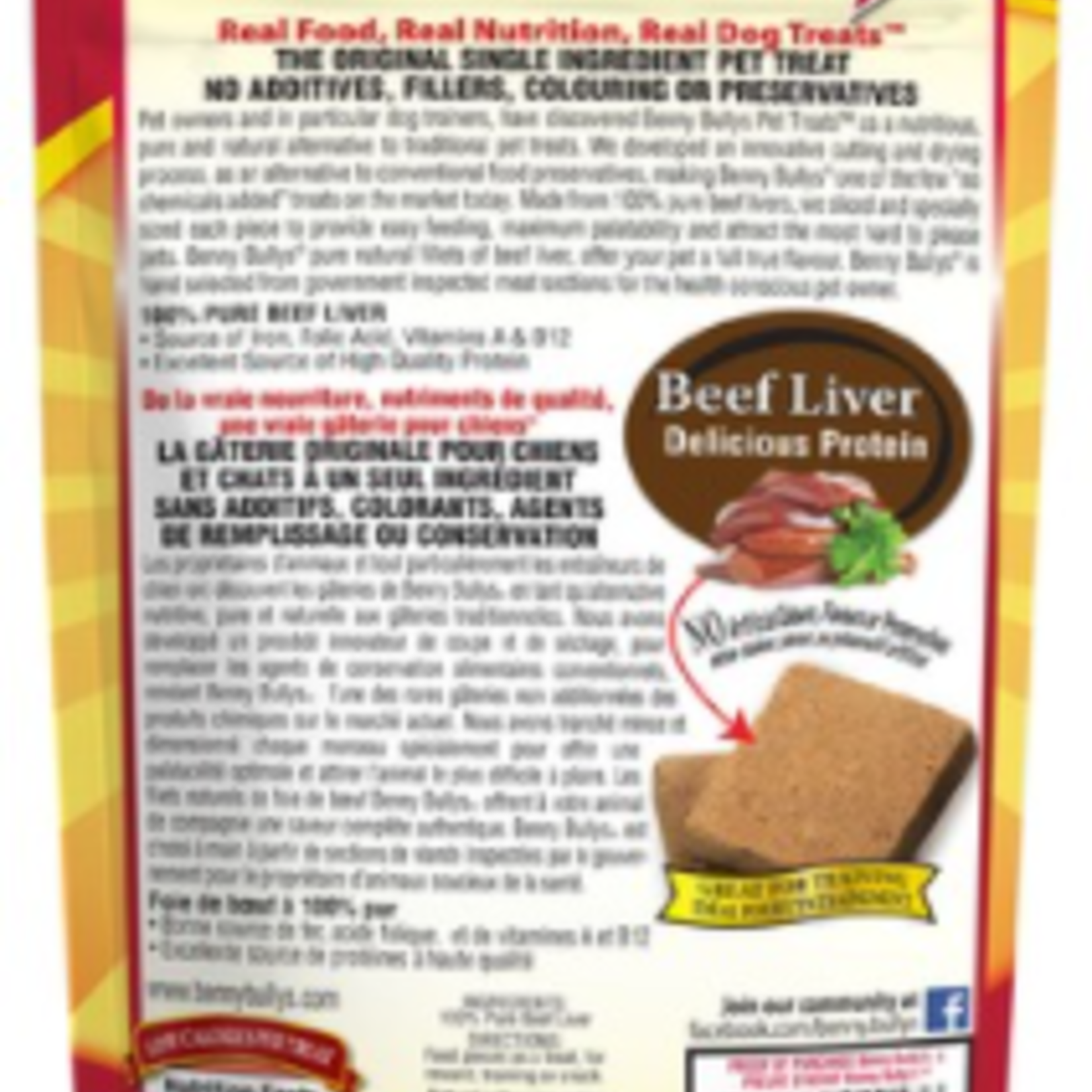 Benny Bully Friandises pour chats Benny Bully's Liver Chop (30g)