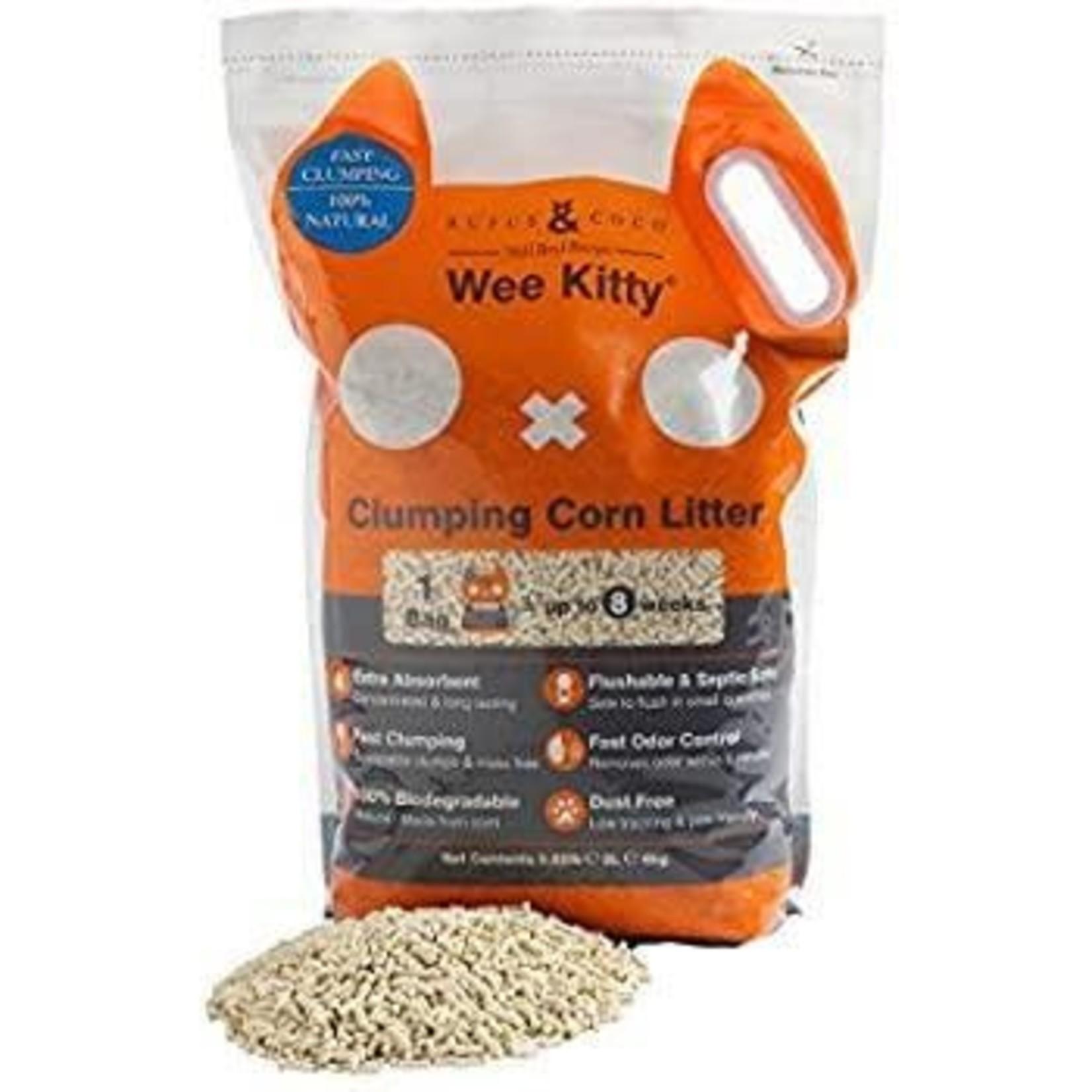 Rufus & Coco Clumping Corn Cat Litter  - Rufus & Coco (9kg)