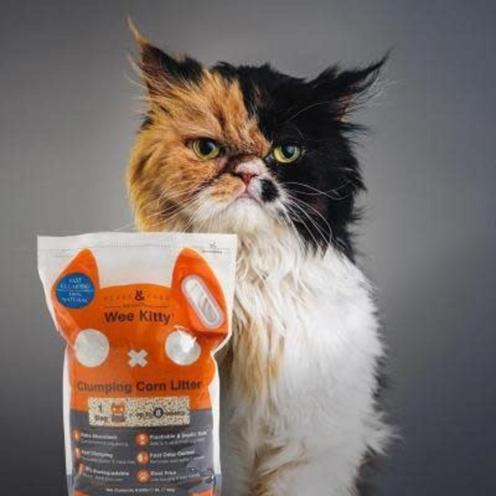 Rufus & Coco Litière de maïs pour chat agglomérante - Rufus & Coco (4kg)