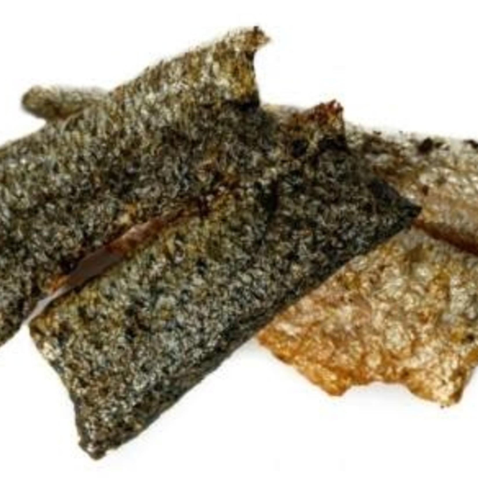 Only One Treats Lanières de peau de saumon sauvage du Pacifique Only One Treats (85 g)