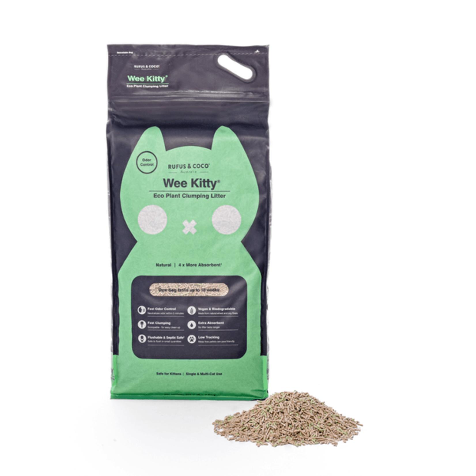 Rufus & Coco Litière pour chat en fibres de soja - Clumping - Rufus & Coco 4kg