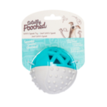 """Messy Mutts Balle Catch n' Squeak Totally Pooched, Caoutchouc Mousse, 3,5"""""""