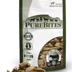 PureBites Foies de boeuf séchés à froid - Gâteries pour chien (57g)