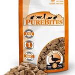 PureBites Foie de canard Séchés à froid - Gâteries pour chat (16g)