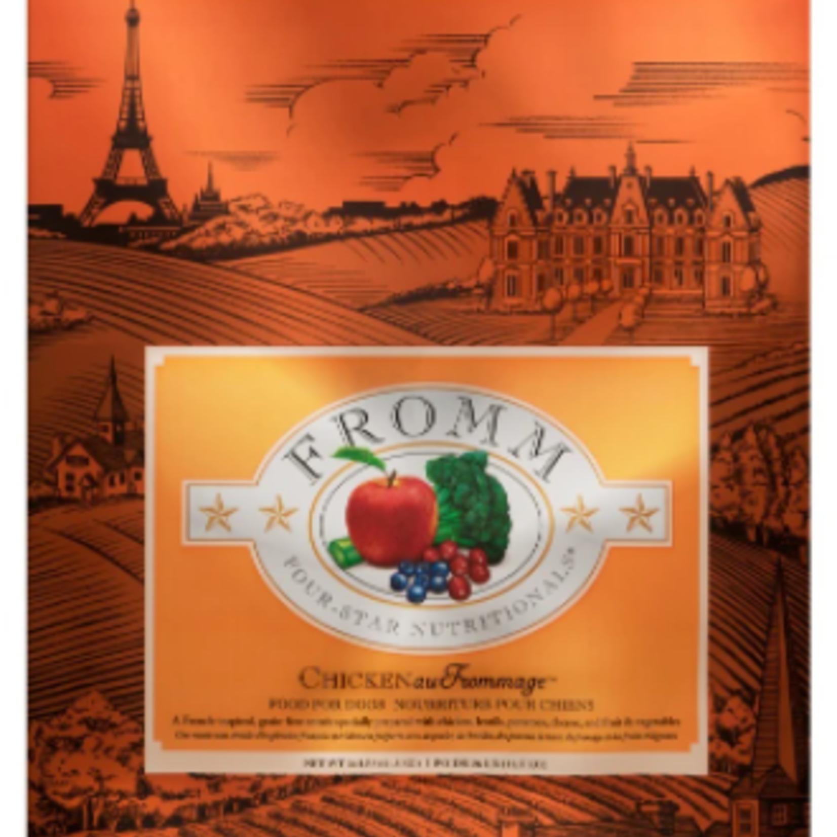 Fromm Recette Poulet au Fromage - 4lbs Croquettes pour chien