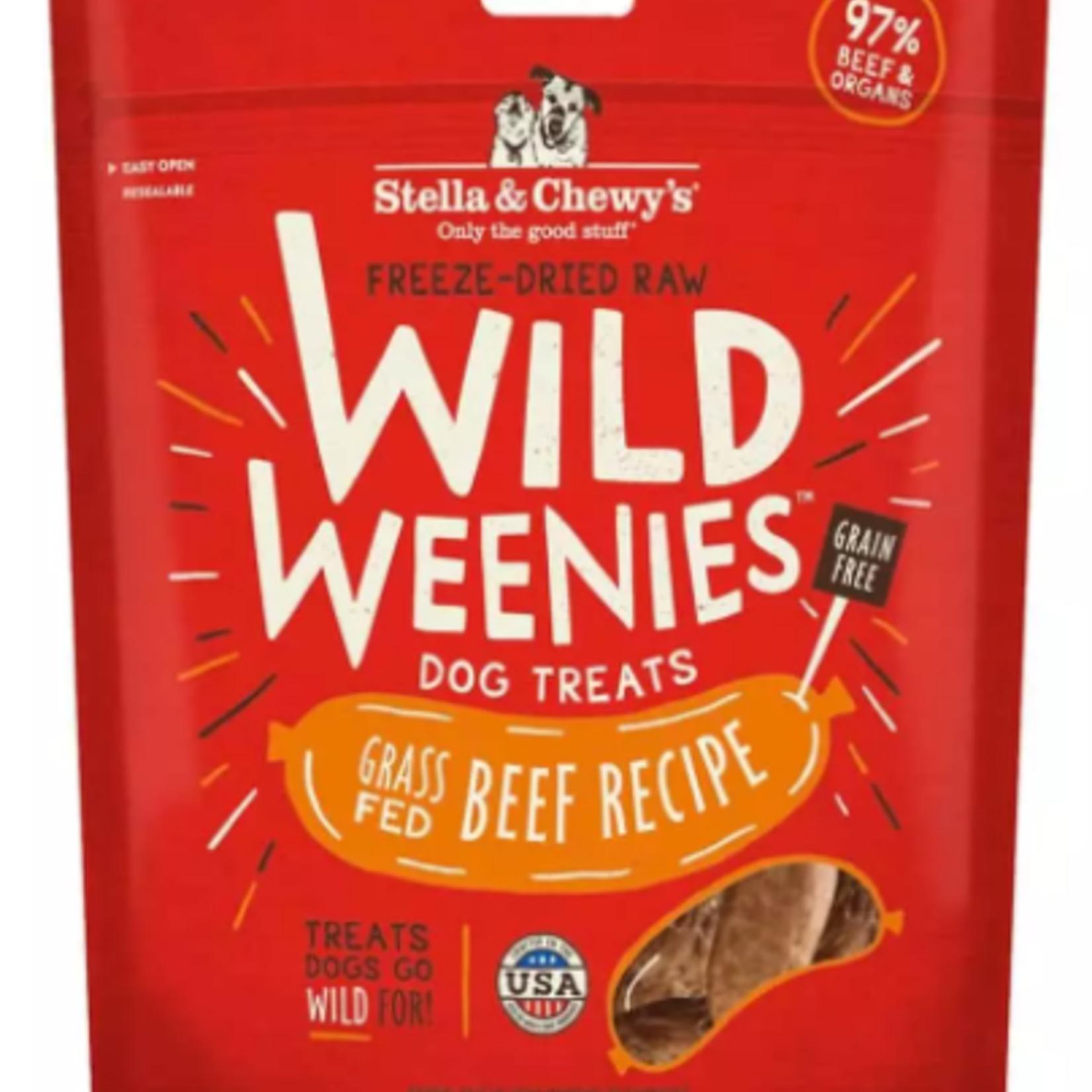 Stella & Chewy s Freeze-Dry RAW-Beef-Wild Weenies - 3.25oz