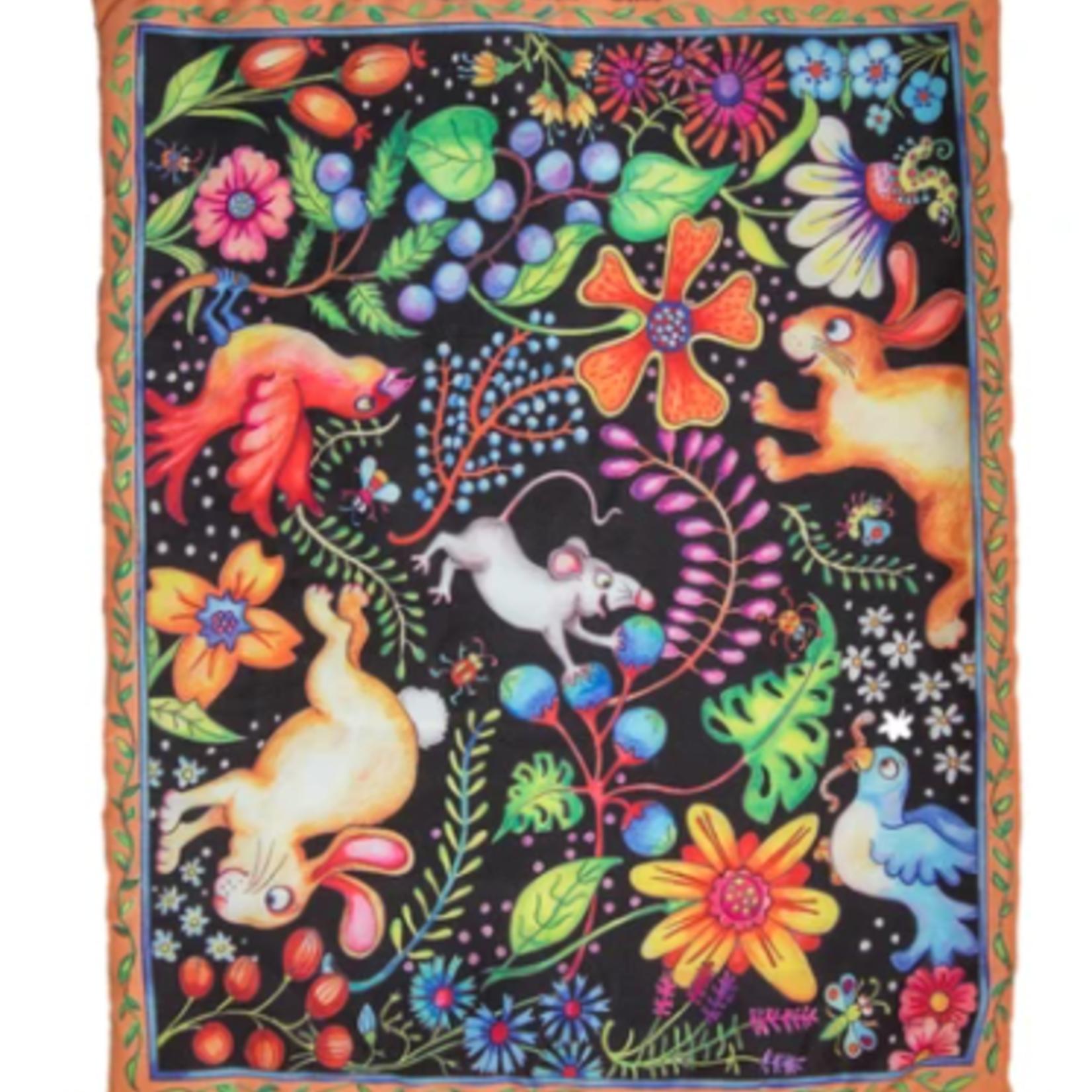 FUZZU Sweet Spot Kitty Carpet-Refillable Catnip Play Mat