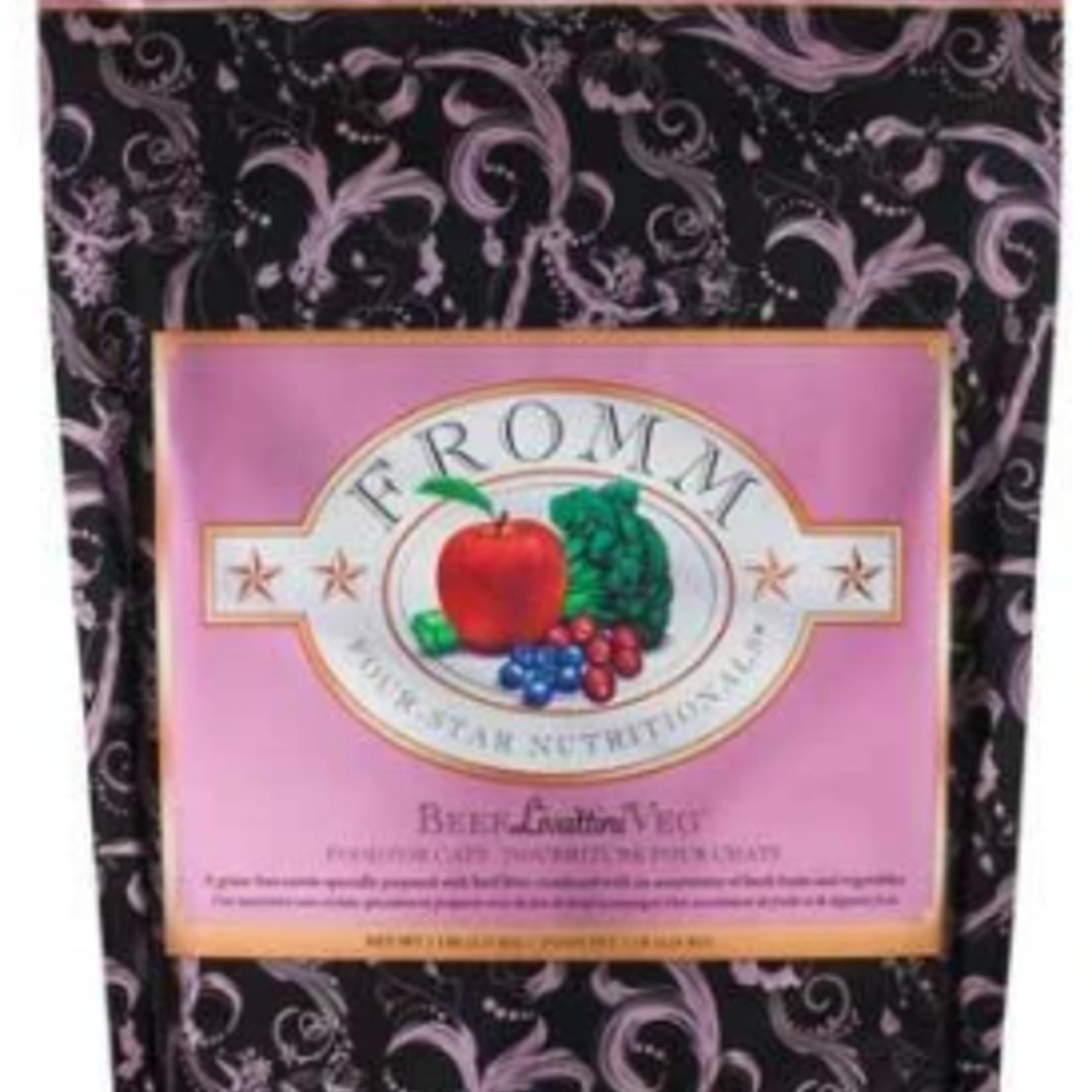 Fromm Beef Liváttini Veg® Recipe -  dry cat food