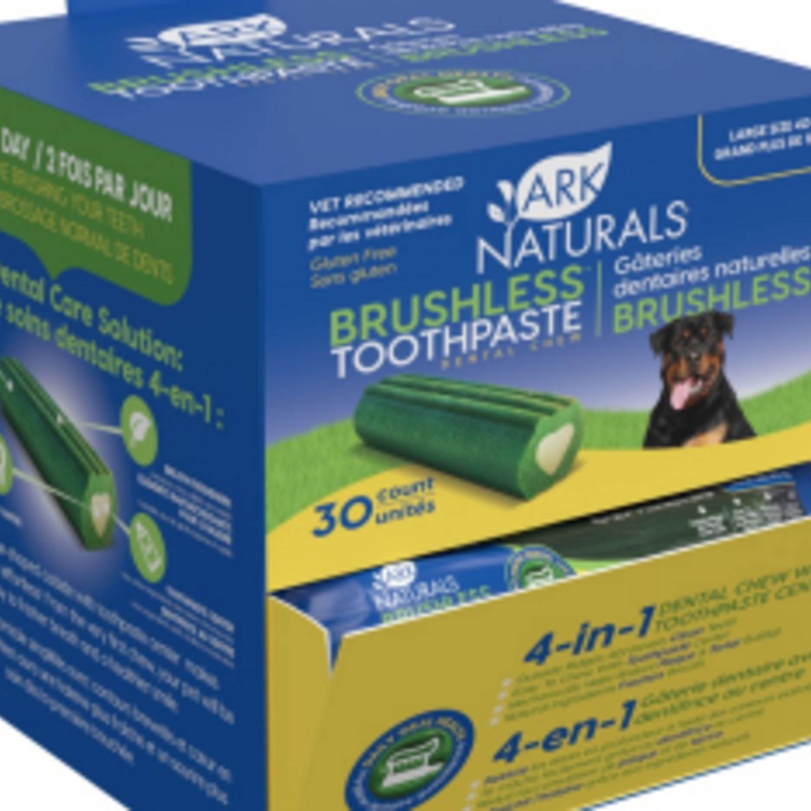 Ark Naturals Brushless Toothpaste Dental Chew - Singles Large