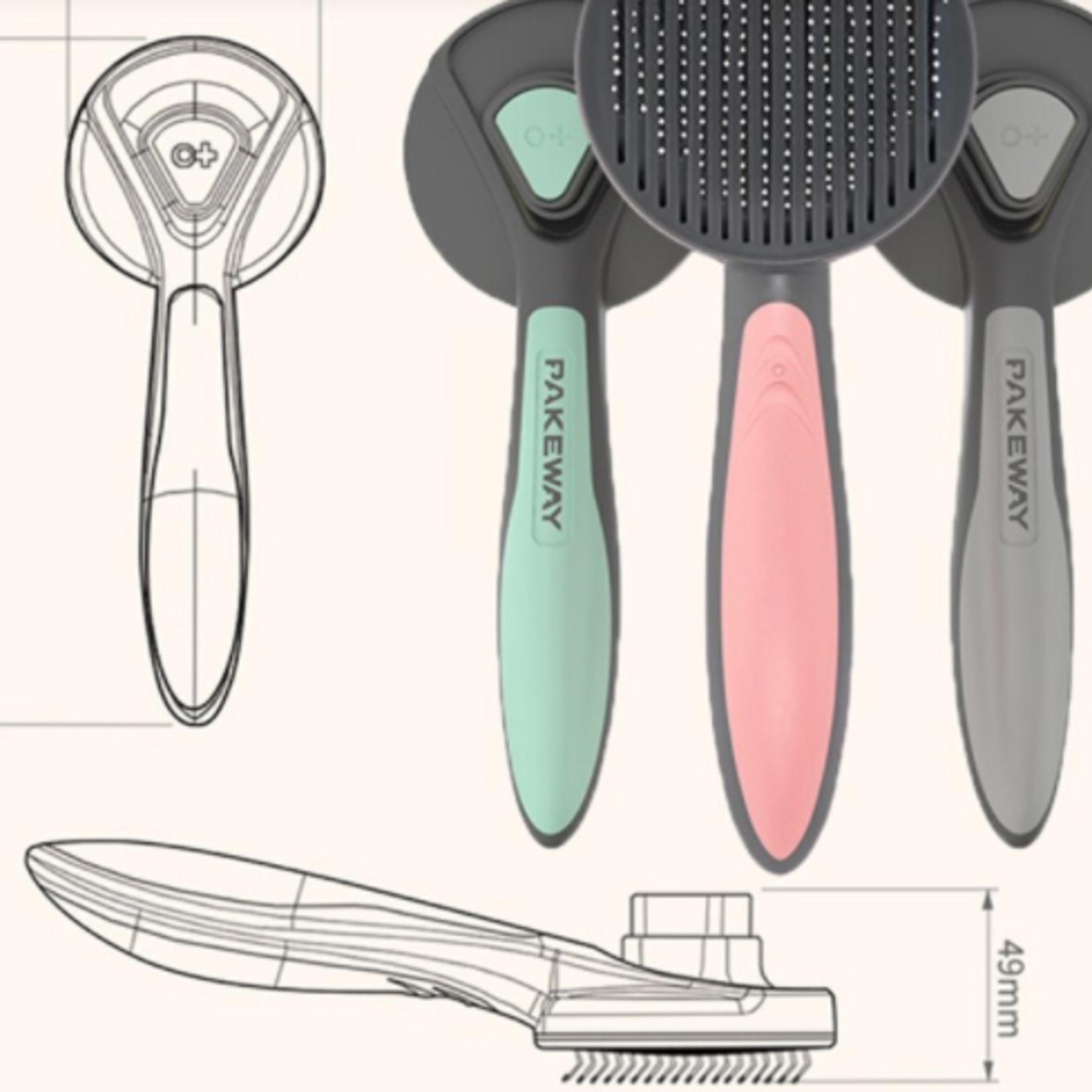 PAKEWAY Grooming Brush-T9Series-Short, Medium & Long Hair