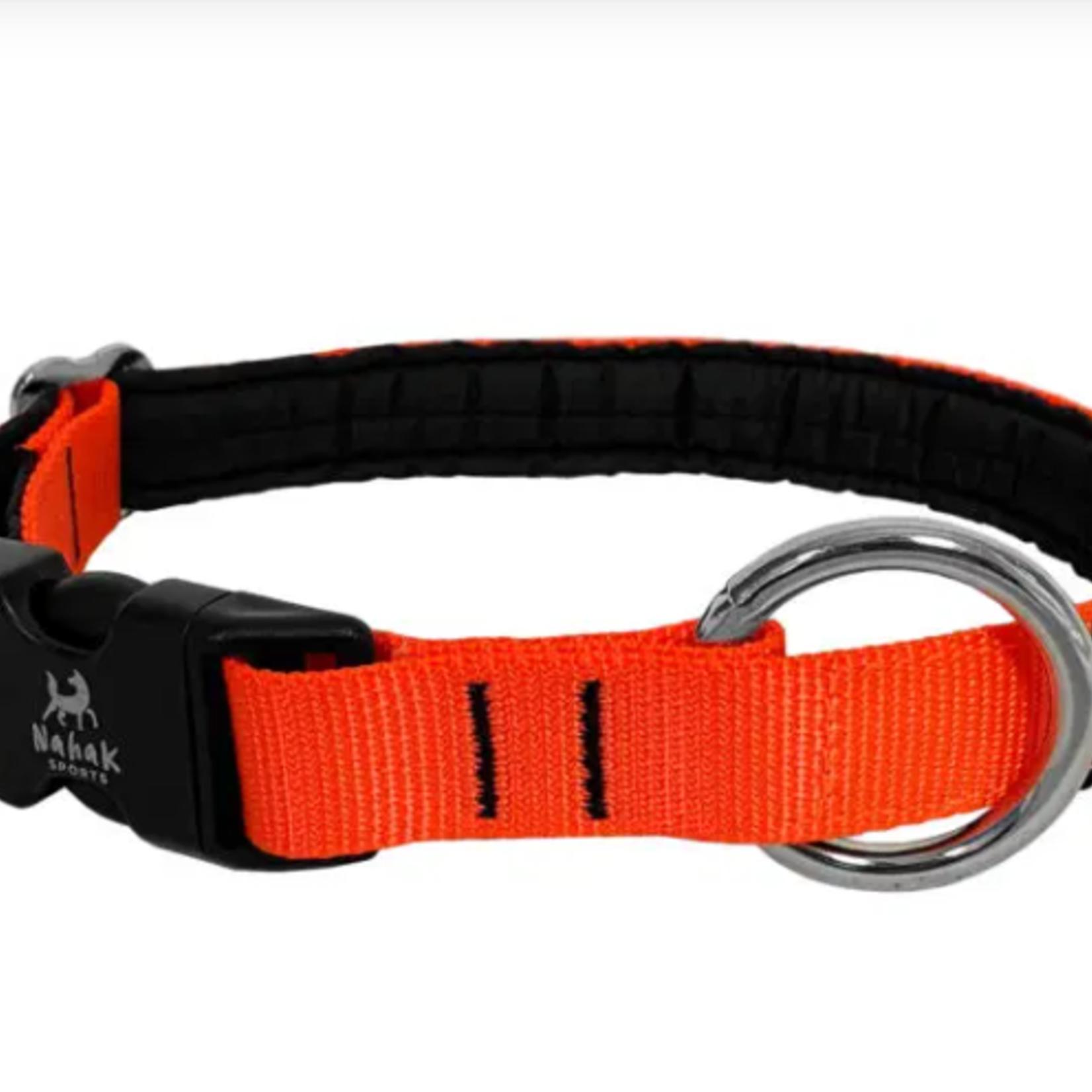 Nahak Padded Dog Collar With Clip