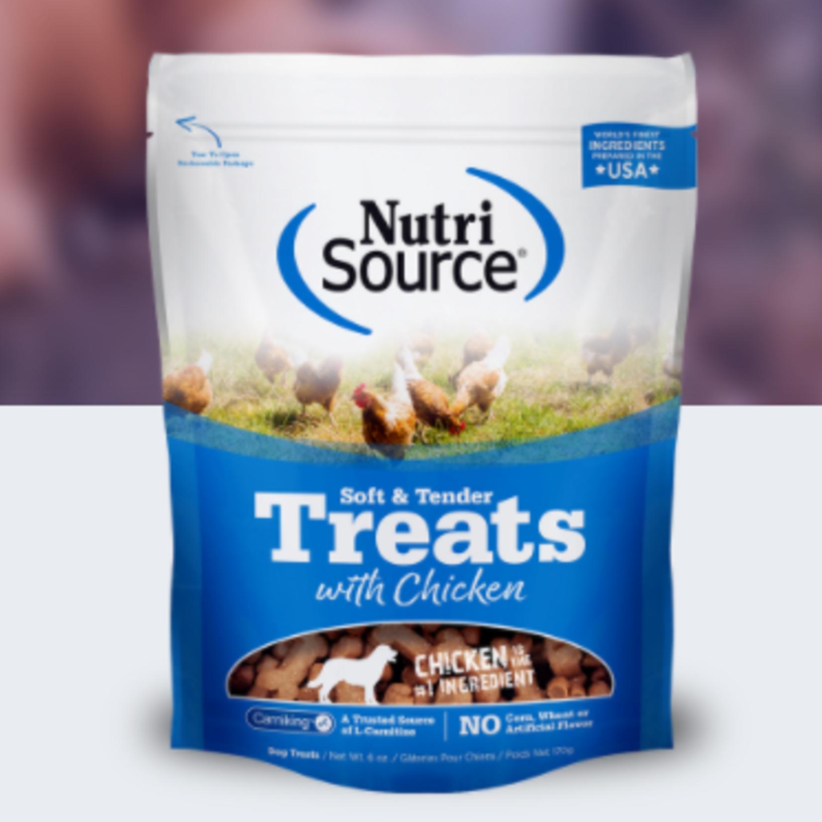 Nutri-Source Chicken-Soft & Tender Treats-14 oz